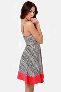 BB Dakota by Jack Nash Striped Dress at Lulus.com!
