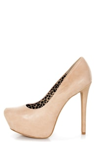 Jessica Simpson Jasmint Pale Pink Luxury Nappa Platform Pumps at Lulus.com!