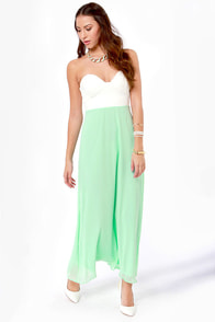 LULUS Exclusive Pastel-Tale Heart Mint Green Maxi Dress at Lulus.com!