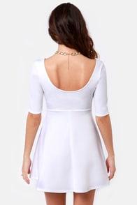 Month of Sundaes Ivory Dress at Lulus.com!