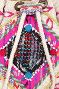 Billabong Take Me There Tribal Print Purse