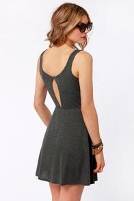 Volcom My Favorite Grey Dress at Lulus.com!