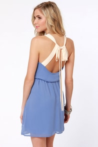 Honey Dipper Periwinkle Blue Dress at Lulus.com!