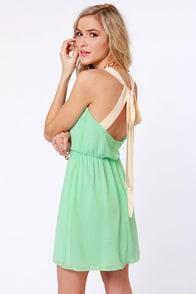 Honey Dipper Mint Green Dress