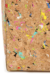 Cork It Over Multi Cork Tote at Lulus.com!