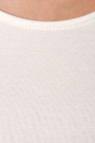 Tank My Breath Away White Dress at Lulus.com!