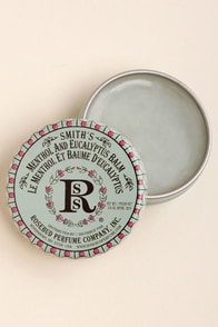 Smith's Menthol and Eucalyptus Balm at Lulus.com!