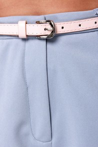 Short Order Cookin' Light Blue Shorts at Lulus.com!