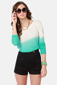 Morning Java Black High-Waisted Shorts at Lulus.com!