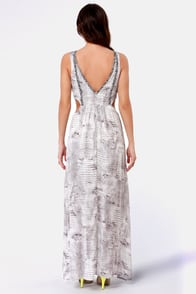 Life of Python Print Maxi Dress at Lulus.com!