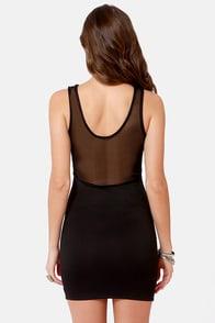 All Eyes On Us Cutout Black Dress at Lulus.com!