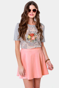 Any Way You Want It Pink Skater Skirt at Lulus.com!