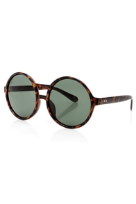 Get Into the Groove Tortoise Sunglasses at Lulus.com!