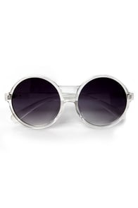 Get Into the Groove Sunglasses at Lulus.com!