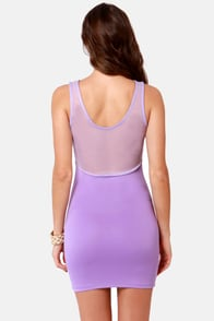 All Eyes On Us Cutout Lavender Dress at Lulus.com!