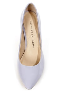 Chinese Laundry Area Patent Lilac Pointed Pumps at Lulus.com!