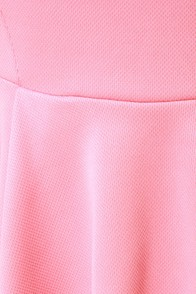 Bright Side of Town Pink Peplum Top at Lulus.com!