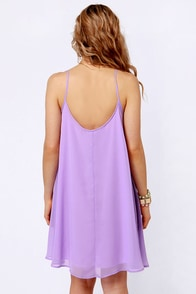 A Kiss For Luck Lavender Midi Dress at Lulus.com!