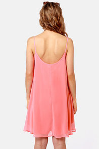 A Kiss For Luck Coral Midi Dress at Lulus.com!