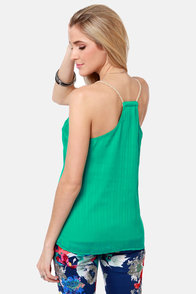 Volcom Sail to the Stone Teal Tank Top at Lulus.com!