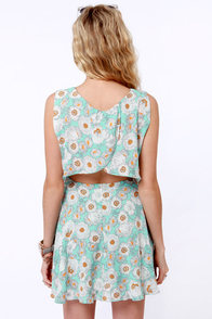 Field of Poppies Floral Print Dress at Lulus.com!
