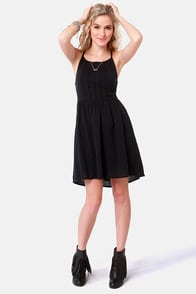 Roxy Perfect Days Black Sundress at Lulus.com!