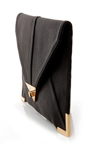 To Have and to Hold Black Clutch at Lulus.com!