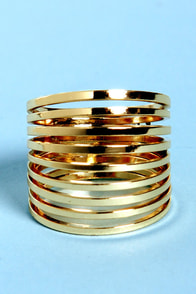 Ring it on Layered Gold Ring
