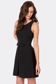 Hot Off the Precious Black Dress at Lulus.com!