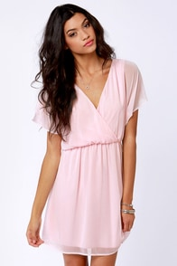Mighty Aphrodite Pink Dress at Lulus.com!