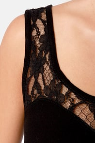 Bring the Action Black Lace Peplum Top at Lulus.com!