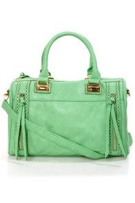 Brogue-in' Dreams Mint Handbag by Urban Expressions