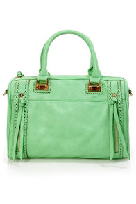 Brogue-in' Dreams Mint Handbag by Urban Expressions at Lulus.com!