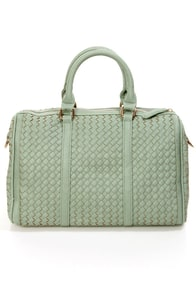 Even Weavin's Sage Green Handbag by Urban Expressions at Lulus.com!