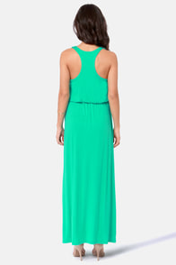 Green Thumb Sea Green Maxi Dress at Lulus.com!