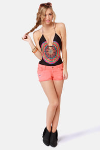 Insight Madnights Plunging One Piece Swimsuit at Lulus.com!