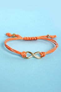 Forever Charming Coral Friendship Bracelet at Lulus.com!