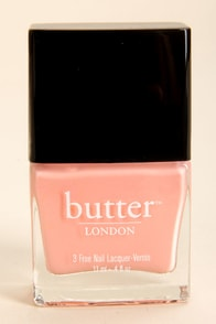 Butter London Kerfuffle Coral Pink Nail Lacquer at Lulus.com!