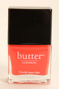 Butter London Jaffa Coral Nail Lacquer at Lulus.com!