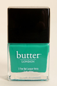 Butter London Slapper Teal Nail Lacquer at Lulus.com!