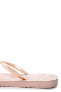 Havaianas Slim Rose Flip Flops at Lulus.com!