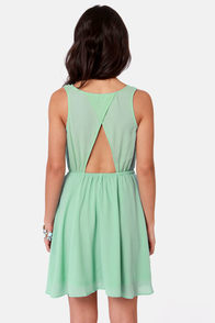 Simmer Down Mint Green Dress at Lulus.com!
