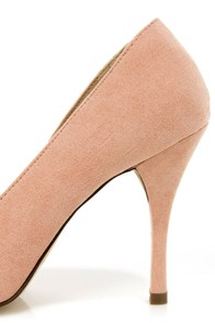 Holly 41 Blush Pointed Pumps at Lulus.com!