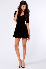 Mink Pink All Coming Back Black Cutout Dress at Lulus.com!