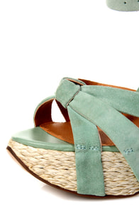 Naughty Monkey Fiesta Frenzy Mint Sequin Espadrille Sandals at Lulus.com!