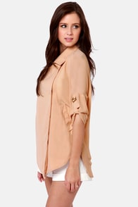 Costa Blanca Sloan Peach Jacket at Lulus.com!