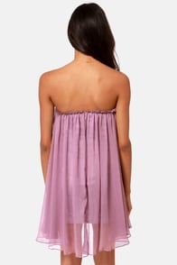 Blaque Label Anthology Strapless Lavender Dress at Lulus.com!