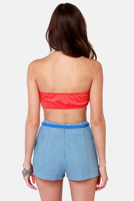 Havana Cabana Red Bandeau Top at Lulus.com!
