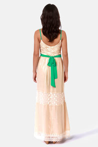 Love Sonnet Cream Lace Maxi Dress at Lulus.com!