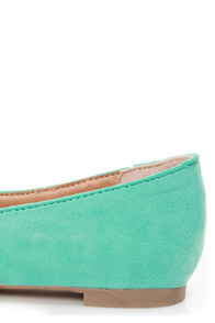 Velma 01 Mint Smoking Slipper Pointed Flats at Lulus.com!